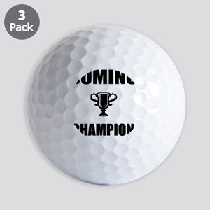 domino champ Golf Balls