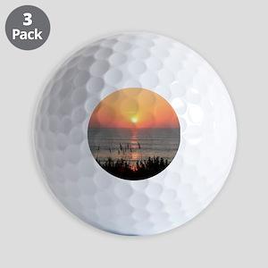 Outer Banks Sunrise Golf Balls