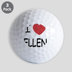 ELLEN Golf Balls