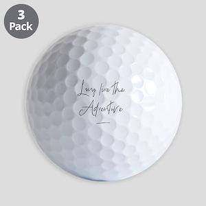 Long Live the Adventure Golf Balls