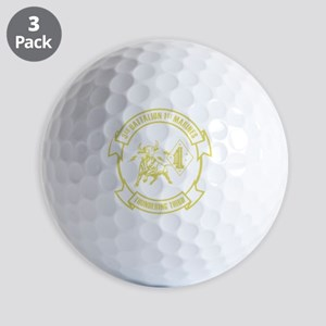 3rd Battalion 1st Marines Front Golf Balls