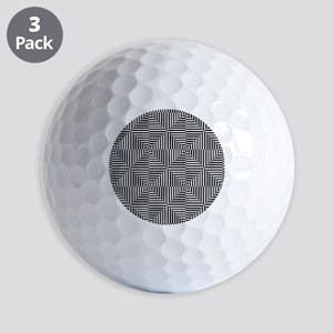 Optical Diamonds Golf Balls
