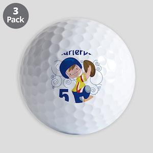 This Little Quarterback is 5 Golf Balls