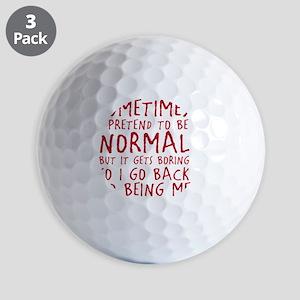 beingme Golf Balls