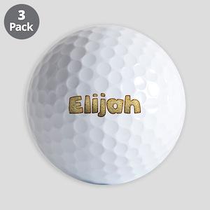 Elijah Toasted Golf Balls