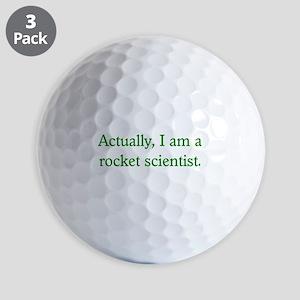Rocket Scientist Golf Balls