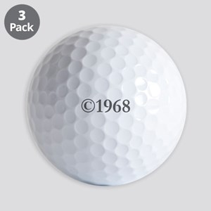 Copyright 1968-Gar gray Golf Ball