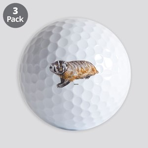 Badger Animal Golf Balls