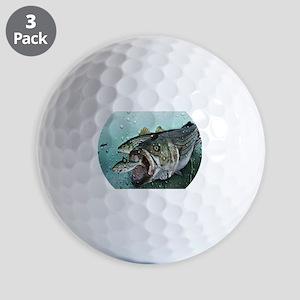 striper n shad Golf Balls