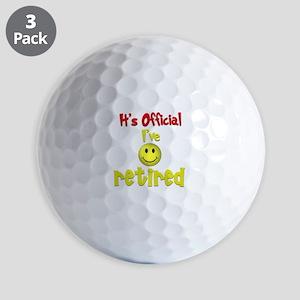 Officially Retired.:-) Golf Balls