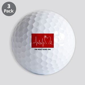 The Beat Goes On - Funny Post-Heart Surgery Golf B
