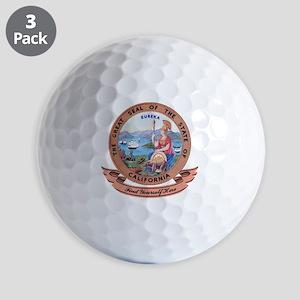 California Seal Golf Balls