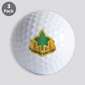DUI - 4th Infantry Division Golf Balls