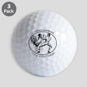 Black GGCP Golf Balls