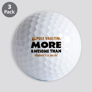 Awesome Polevault designs Golf Balls