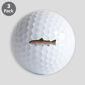 Rainbow Trout - Stream Golf Ball