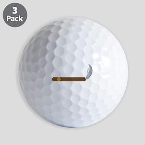 Cigar Smoke Golf Ball