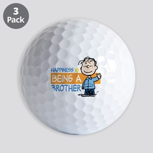 Happiness is being a Brother Golf Balls