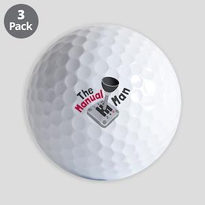 Manual Man Golf Ball