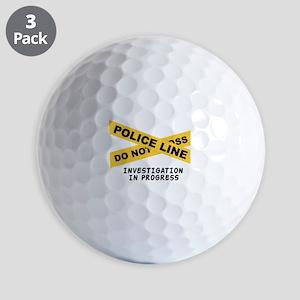 Investigation Golf Ball