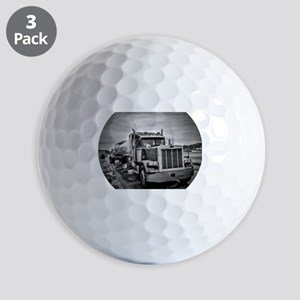 Big Red On The Job Golf Ball
