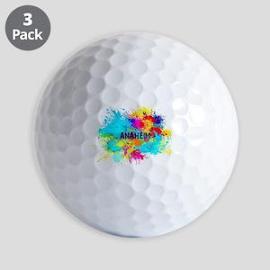 Anaheim Burst Golf Balls