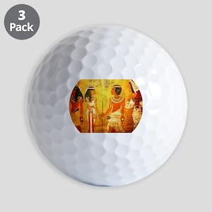 Cool Egyptian Art Golf Balls