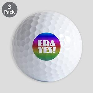ERA YES - Rainbow Golf Balls