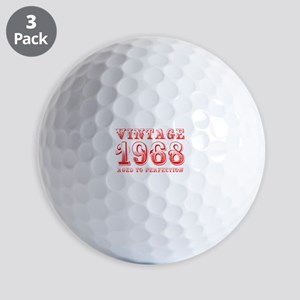 VINTAGE 1968 aged to perfection-red 400 Golf Ball
