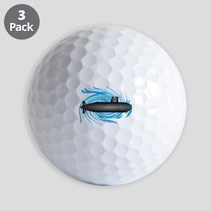 TO NEW DEPTHS Golf Ball