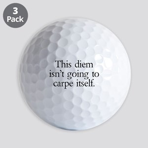 Carpe Diem Golf Balls