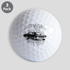 Supernatural Impala Golf Ball