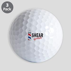 SHEAR GENIUS Golf Ball