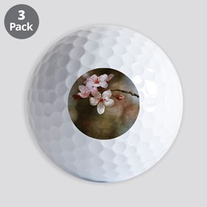 cherry blossom flowers Golf Balls