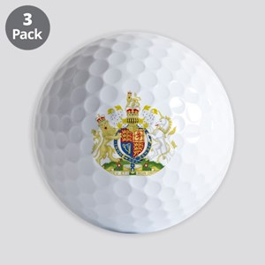 Royal COA of UK Golf Ball