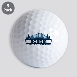 Acadia - Maine Golf Balls