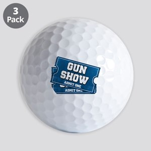 Gun Show Tickets Golf Balls