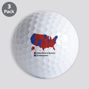 Dumbfuckistan Golf Balls
