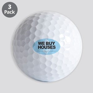 We Buy Houses Golf Balls
