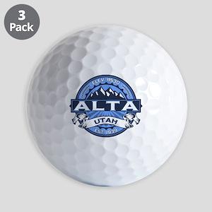 Alta Blue Golf Balls