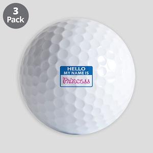 NAME IS PRINCESS Golf Ball