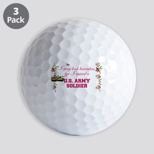 I Raised A Soldier Golf Balls