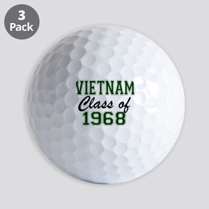 Vietnam Class of 1968 Golf Ball