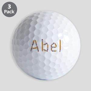 Abel Pencils Golf Balls