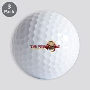 The Freebootaz Logo Golf Balls