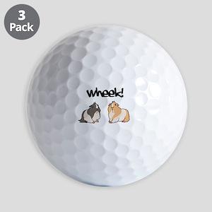Wheek Guinea pigs Golf Ball