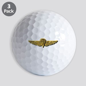 Navy - Parachutist Badge - No txt Golf Balls
