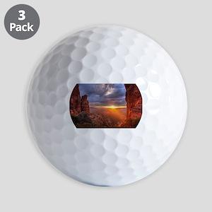 Grand Canyon Sunset Golf Balls