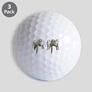 dressage hands large Golf Ball