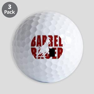 BARREL RACER [maroon] Golf Balls